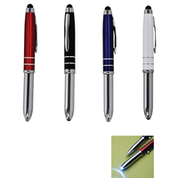 The Sensi-Touch Ballpoint Pen/Stylus/LED Light