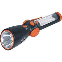 Solar/Hand Crank LED Flashlight/Radio