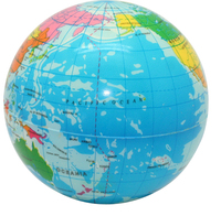 Squeezies (R) Printed Globe Stress Reliever