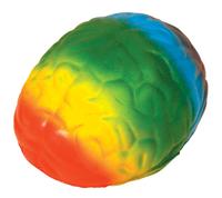Squeezies® Rainbow Brain Stress Reliever