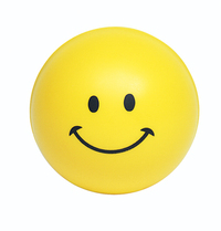 Squeezies (R) Smiley Face Stress Reliever