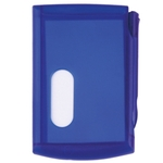 Memo Pad with Card Case and Pen