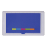 Ruler Case with Adhesive Flags