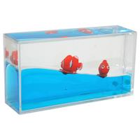 Liquid Mini Wave Clown Fish Paperweight