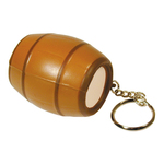Squeezies (R) Barrel Keyring Stress Reliever