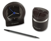 Desk Clock & Desk Caddy Set