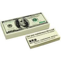 Hundred Dollar Bill Shape Stress Reliever