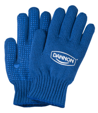 Royal Blue Knit Freezer Gloves