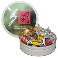 The Grand Holiday Christmas Tin with Hershey Chocolates