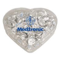 Heart Show Piece w Hershey Kisses Chocolate- Valentines Day