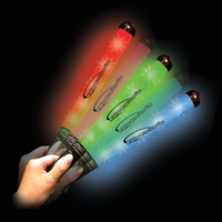 Multi Color LED Glow Patrol Wand