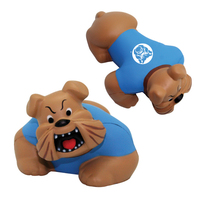 Squeezies® Bull Dog Stress Reliever