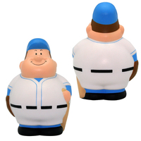 Squeezie® Baseball Bert™ Stress Reliever