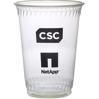 Eco-Friendly Soft Sided 10 Ounce Plastic Cup