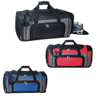 Deluxe Poly Duffel Bag with Shoe Storage