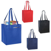 Non-Woven Tote w/ Fabric Covered Bottom Insert