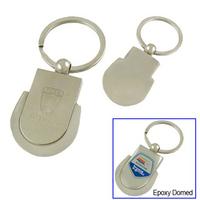 Shield Metal Key Tag