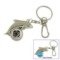 Dolphin Key Tag