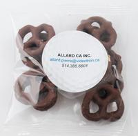 2oz. Milk Chocolate Mini Pretzel Handfuls