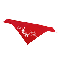 Large Pet Collar Bandanna