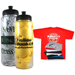 Sport bottle with t-shirt