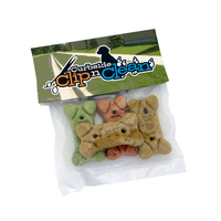 Dog Bone Pack With Header (4 Bones)