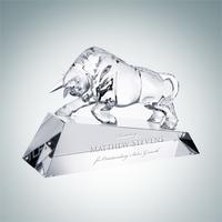 Optimistic Bull Crystal Award