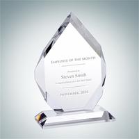 Classic Crystal Glass Diamond Award