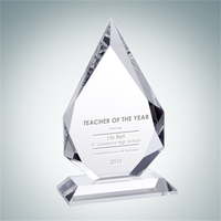Crystal Glass Prestige Flame Award