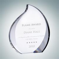 Crystal Glass Eternal Flame Award