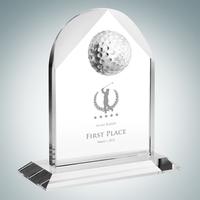 Distinguished Golf Arch Crystal Award