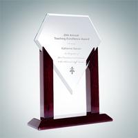 Heroic Jade Diamond Jade Glass Award