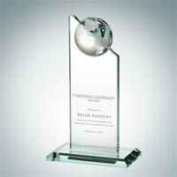 Jade Glass Globe Pinnacle