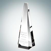 Pinnacle Crystal Glass Award