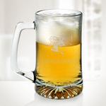 Sport Beer Glass Mug- 25 oz
