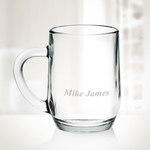 Glass Coffee Personalized Mug- 20 oz