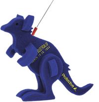 Kangaroo on a Leash
