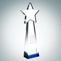 Crystal Blue Star Goddess Tower award