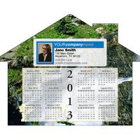 Calendar House Magnet
