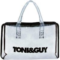Clear Salon Zipper Tote
