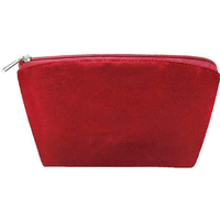 Velvet and Satin Cosmetic Bag