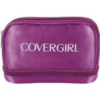 Satin 2-Story Cosmetic Bag