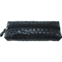 Flat Woven Cosmetic Pouch