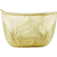 Large Pleated Cosmetic Bag