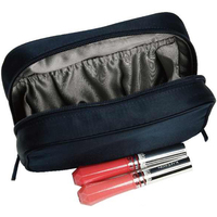 Satin Zip Around Cosmetic Bag