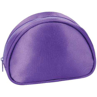 Satin Arched Cosmetic Bag
