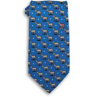 Blue Democrat Donkey Political Tie