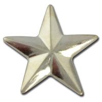 Beveled Star Lapel Pin