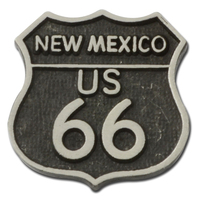 US Route 66 New Mexico Lapel Pin