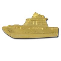 Motor Boat 2 Lapel Pin